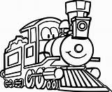 Train Coloring Pages Cartoon Cute Steam Engine Locomotive Thomas Trains Drawing Tank Preschool Printable Print Diesel Clipartmag Wecoloringpage Sheets Sheet sketch template