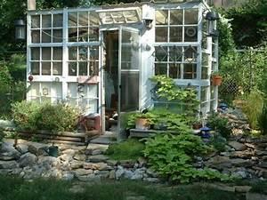Sprossenfenster Alt Kaufen : gew chshaus aus recycling fenster garten pinterest ~ Lizthompson.info Haus und Dekorationen