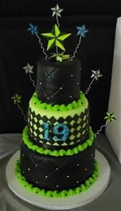 Neon Cakes on Pinterest