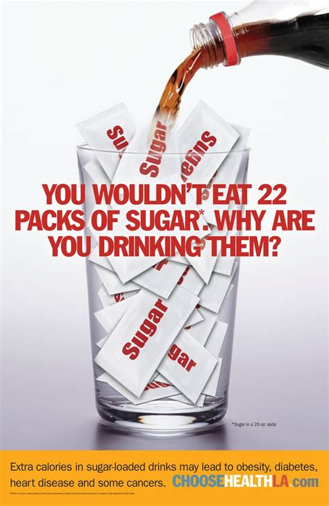 quot you wouldn t eat 22 packs of sugar why are you drinking