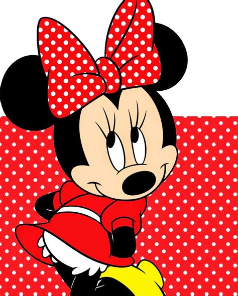 Minnie In Red Free Printable Notebook  Oh My Fiesta! In