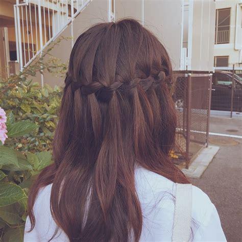 waterfall braid styles hairstyles design trends