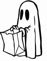 Halloween Coloring Ghosts Colorings Ghost Cool Printables Printable Clip sketch template