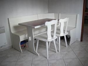 Banc De Cuisine : banquette angle coin repas clasf ~ Premium-room.com Idées de Décoration
