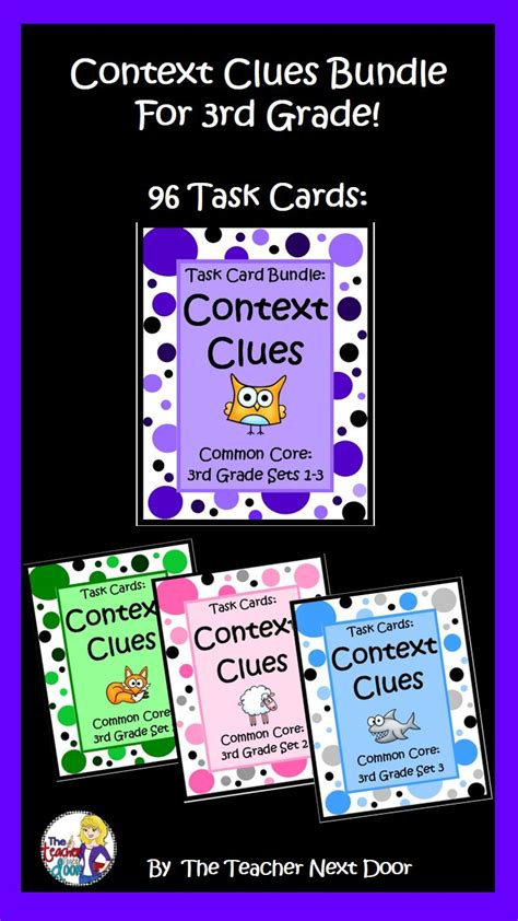 59 Best Context Clues Images On Pinterest Reading