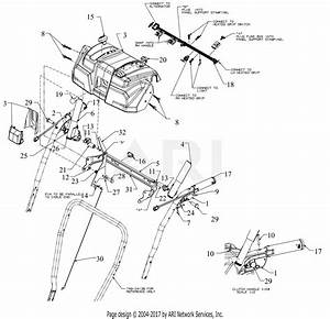 Troy Bilt 31ah5dp5766 Storm 3090  2017  Parts Diagram For