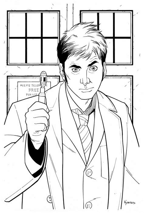 Doctor Doctor Home Doctor Tardis Coloring Page Coloring Home