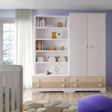 armoires chambres chambre bébé design bicouleur et colorée glicerio