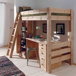 Cocktail Scandinave Lit : optimisez l 39 espace avec le lit compact karl en bois massif ~ Melissatoandfro.com Idées de Décoration