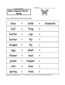 make worksheets free make compound words printable worksheets enchantedlearning