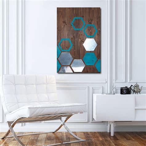 modern painting wood wall metal wall modern wall