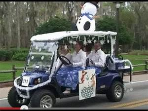 Fort Wilderness Holiday Annual Golf Cart Parade