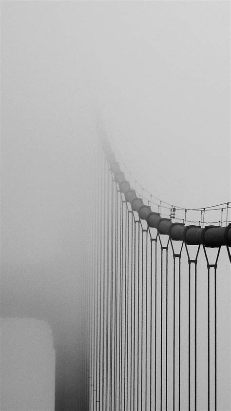 golden gate bridge  fog iphone wallpaper iphone wallpapers