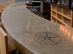 stone inlay concrete countertops   Google Search