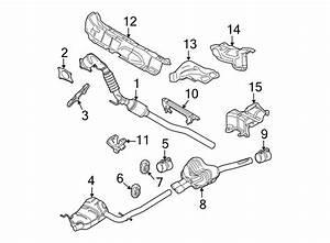 Volkswagen Jetta Gli Exhaust Muffler  2 0 Liter  Gas