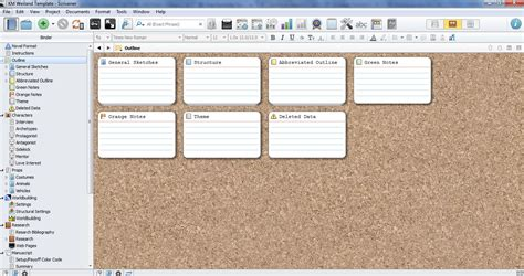 scrivener templates scrivener template for outlining and structuring your novel helping writers become authors