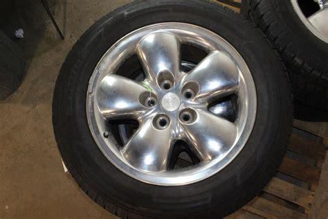 2005 Dodge Ram 1500 Rims by 2002 2005 Dodge Ram 1500 Rims Tires 4 Pieces Property Room
