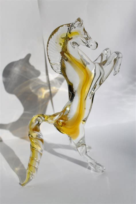 ladario in vetro di murano cavallo rante vetro di murano venturini souvenirs