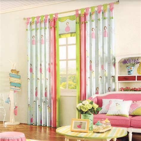 Kids Room Darkening Curtains Cotton Fabric