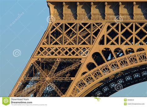 eiffel tower close  paris stock images image