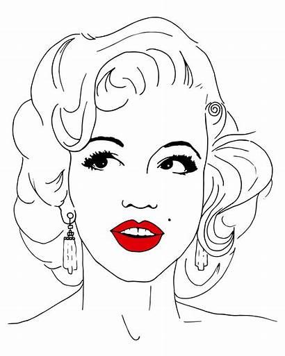 Marilyn Monroe Domestika Project