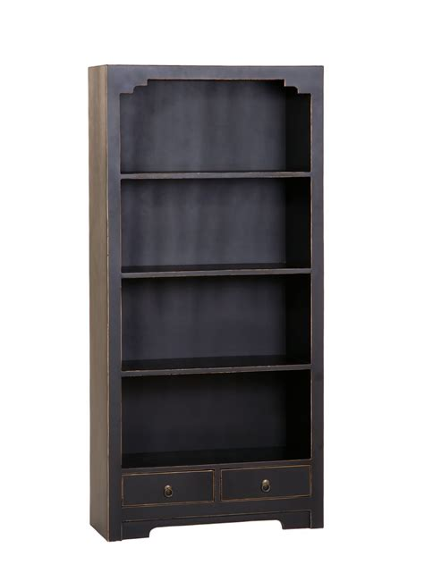 Black Wood Bookcase by 15 Photo Of Large Solid Wood Bookcase