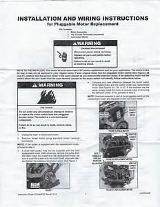 Maytag Dryer Motor Replacement W10410999 Y303836 Y312959