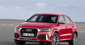 Nouveau Q3 Audi : audi q3 et rs q3 restyl s nouveau museau et moteurs euro 6 ~ Medecine-chirurgie-esthetiques.com Avis de Voitures