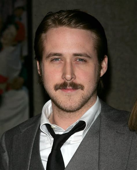 Ryan Gosling | The Most Handsome Moustached Men of ...