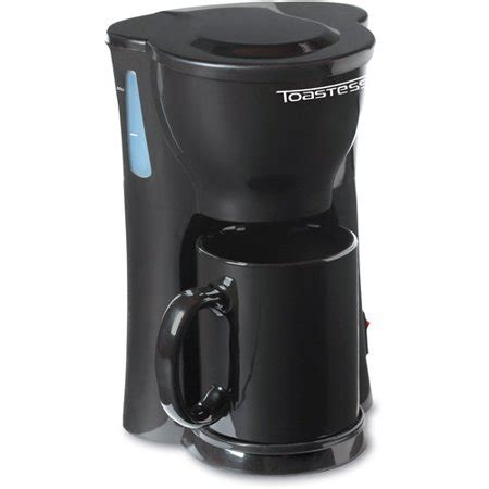 4.2 out of 5 stars with 944 reviews. Toastess One-Cup Coffee Maker with 10.5-Ounce Mug, TFC326, Black - Walmart.com