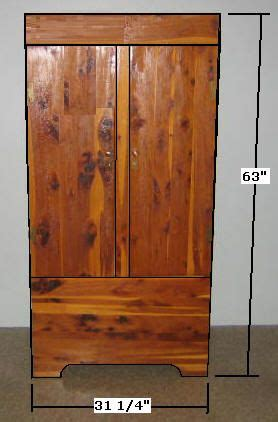 Building Wardrobe Closet by Free Armoire Wardrobe Closet Plans How To Build A