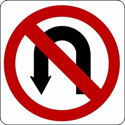 Sign Turn Clip Clipart Clker Svg