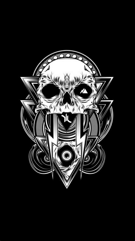 Pin by Ashley Oakes on wallpaper | Skull art, Horror art