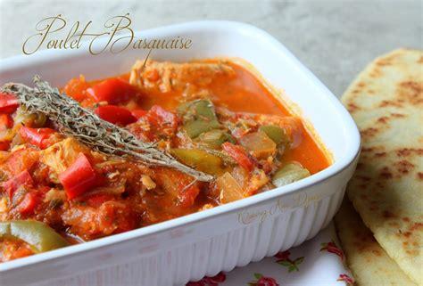 cuisine pates poulet basquaise recettes faciles recettes rapides de