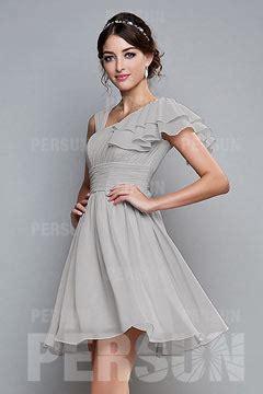 robe et grise pour mariage robe demoiselle d honneur grise argent 233 e robespourmariage