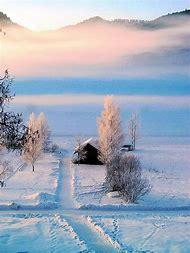 Beautiful Winter Cabin