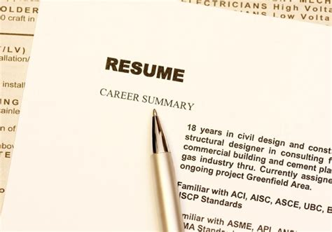 12 myths about writing your resume