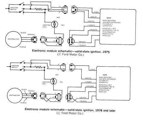 Wiring Electronic Distributor Ford Muscle Forums