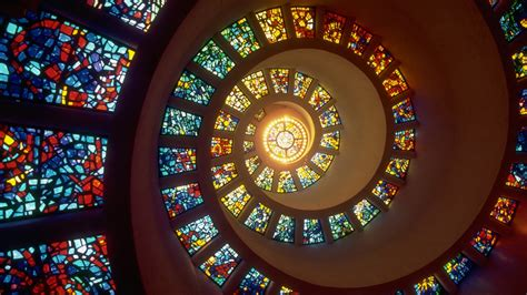 full hd wallpaper helix stained glass infinity desktop