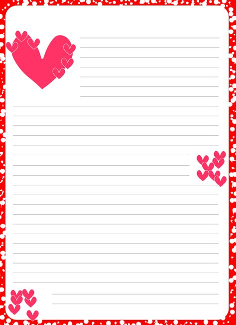 7 Best Images Of Printable Love Letter Backgrounds