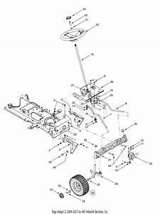 Troy Bilt 14ab809h063 22hp Garden Tractor  2002   Gt