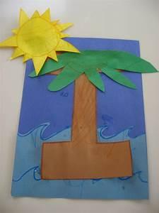 letter i preschool craft island kids crafts pinterest With letter art for kids