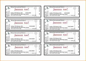 avery ticket template authorization letter pdf With avery event ticket template