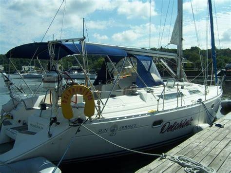 Boat Loans Nj by 1993 Jeanneau Sun Odyssey 42 1 Sail Boat For Sale Www