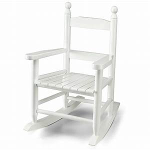 Wooden rocking chair for kids white ebay for Kids white wooden chair