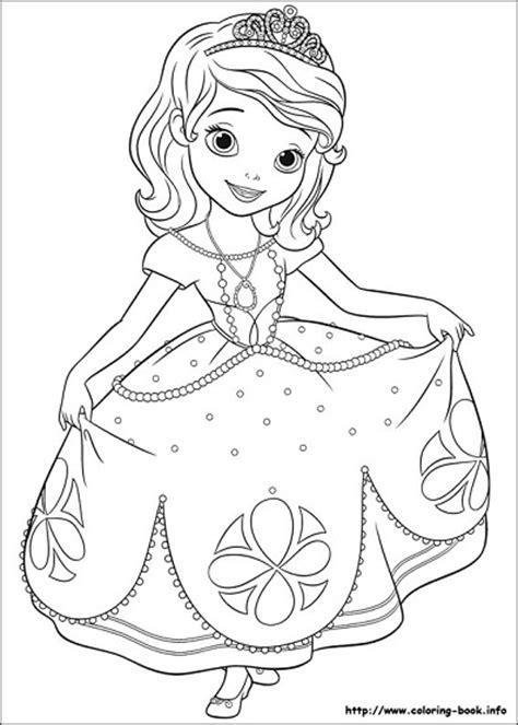 nuevas imagenes de princesa sofia  colorear