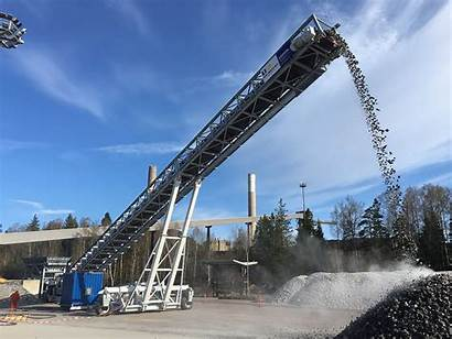 Mobile Loader Stacker Radial Technical Request Conveyors