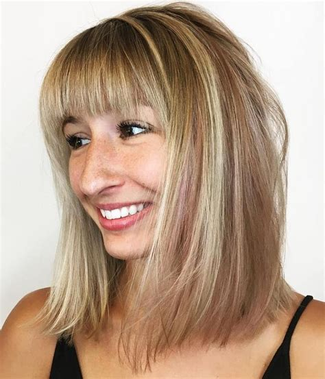 ways to style thin hair 20 modern ways to style a bob with bangs hair 1334