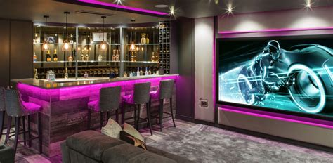 Home Bar Solutions by Finite Solutions Installs Dolby Atmos Home Cinema Into