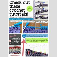 Check Out These Great Crochet Tutorials • Oombawka Design Crochet